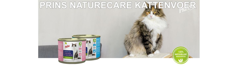 Prins NatureCare kattenvoer