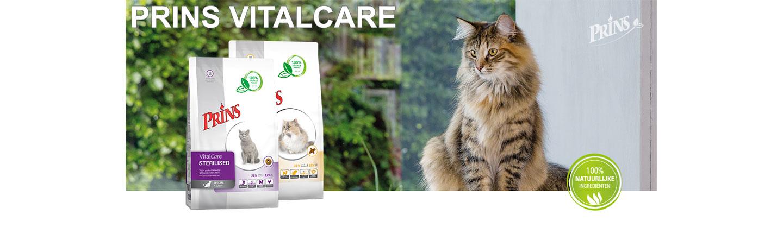 Prins VitalCare kattenvoer