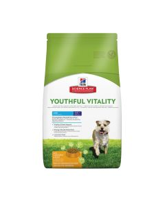 Hill's Science Plan Hond Adult Youthful Vitality 7+ Small&Mini Kip 6kg