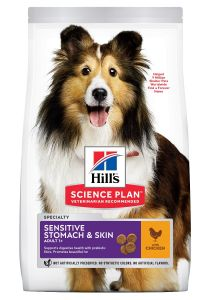 Hill's Science Plan Hond Adult Gevoelige Huid en Maag Medium 14kg