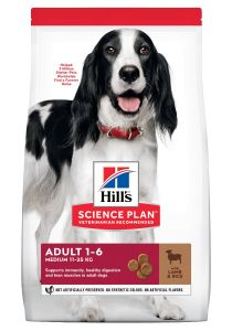 Hill's Science Plan Hond Adult Medium Lam&Rijst 14kg