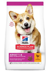Hill's Science Plan Hond Adult Small&Mini Kip 6kg