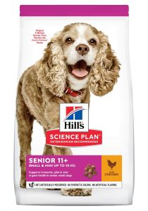 Hill's Science Plan Hond Senior 11+ Small&Mini Kip 1,5kg