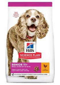 Hill's Science Plan Hond Senior 11+ Small&Mini Kip 1,5kg