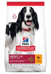Hill's Science Plan Hond Adult Medium Kip 14kg