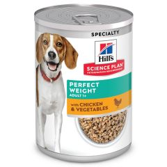 Hill's Science Plan Hond Natvoer Adult Perfect Weight 363g