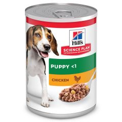 Hill's Science Plan Hond Blik Puppy Kip 370g