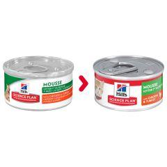Nieuwe verpakking: Hill's Science Plan Kitten 1ste Nutrition Mousse Kip/Kalkoen 82g