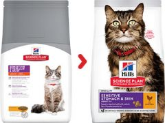 Hills science plan sensitive stomach en skin kat