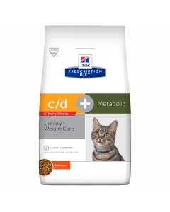 Hill's c/d Urinary Stress + Metabolic 4kg