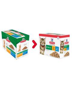 Nieuwe verpakking: Hill's Science Plan Kitten Multipack Classic (12x85g)