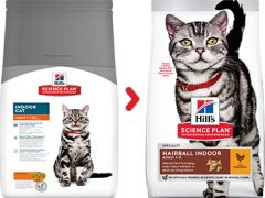 Hills science plan hairball indoor kat