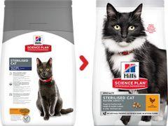 Hills science plan sterilised cat mature kip