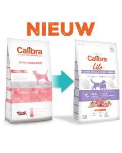 Calibra Dog Life Junior Small & Medium Breed Lamb