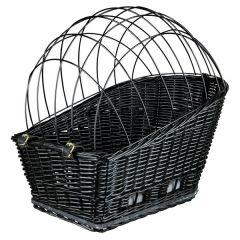 Trixie fietsmand voor bagagedrager Zwart 35x49x55 cm