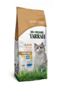 Yarrah Cat Droog Graanvrij Kip&Vis