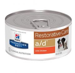 Hill's a/d Restorative Care Hond/Kat 24x156gr
