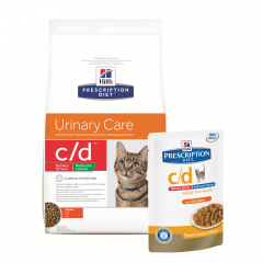 Hill's c/d Urinary Stress Reduced Calorie Kat