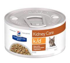 Hills Kidney Care kattenvoer stew