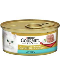 Purina Gourmet Gold - Hartig torentje tonijn 85g