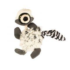 Fluffy wasbeer met touw 21cm