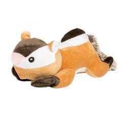 Pluche eekhoorn met knisper staart 24cm voor hond