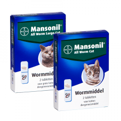 Mansonil All Worm Tablet Kat
