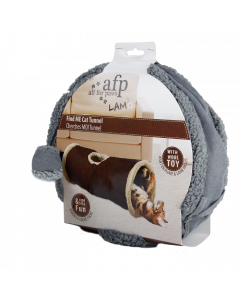 All For Paws - Lambswool Find Me Cat Tunnel