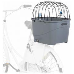Trixie fietsmand Voor Bagagedrager Grijs 36x47x46 cm