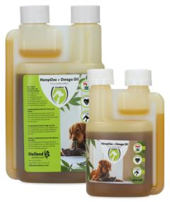 HempOne + Omega Oil Hond & Kat