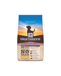 Hill's Ideal Balance Hond Mature Adult Graanvrij Kip&Aardappel