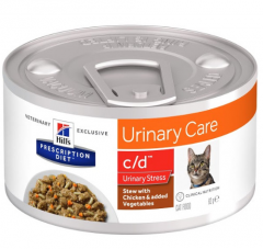 Hills urinary care c/d stress kattenvoer nat
