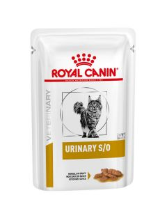 Royal Canin Urinary S/O  kat morsels gravy - 12 x 85g